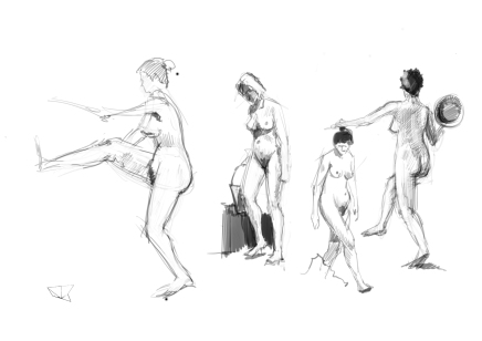 Sketches Woman 02