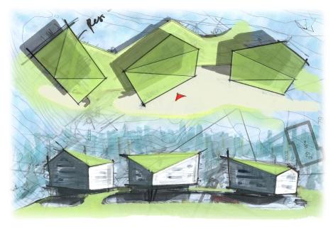 V03 Plan_Fasaden Concept Skizzen PS W